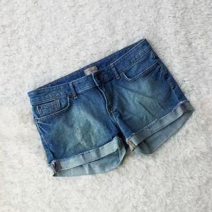 GAP Cuffed Denim Shorts